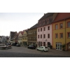Германия,   красивый дом с рестораном на главной площади города