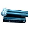 Микрофон shure sm58 радиосистема 2 микрофона.  кейс.  магазин