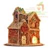 Сладкие бизнес-подарки - пряничные домики с логотипом