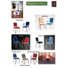 Банкетные стулья на металлокаркасе